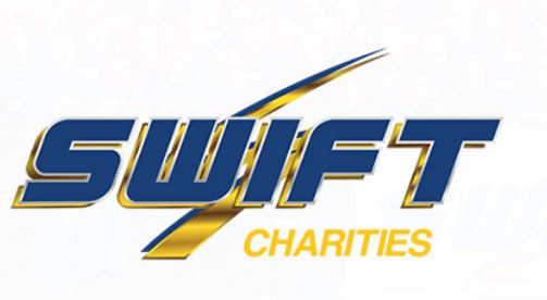 Swift Charities $2,500 sponsor